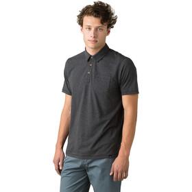 Prana Poloshirt Heren, black stripe